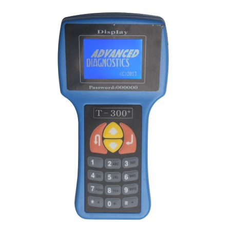 V17.8 Standard T300 Key Programmer English Blue
