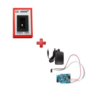 AK90 Key Programmer for BMW Plus K-LINE 0D46J EWS Adapter