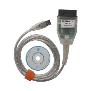Cheap MINI VCI V13.00.022 Single Cable For Toyota Support Toyota TIS OEM Diagnostic Software