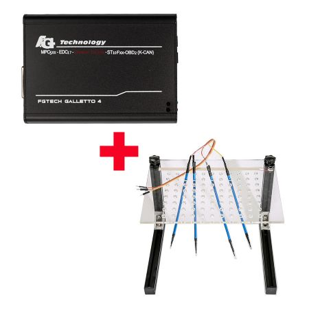 Hot Sale V54 FGTech Galletto 4 Master Plus LED BDM Frame with 4 Probes Mesh