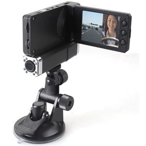HD 1080P Dual Lens IR Car Dashboard Dash Camera Cam DVR Rotable Monitor
