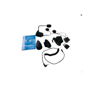 New 100M Motorcycle Helmet Headsets Intercom Bluetooth Handsfree Kit 2pcs/lot