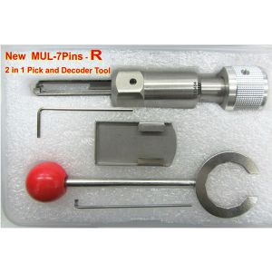 New MUL-7Pin-R 2 in 1 Pick and Decoder Tool