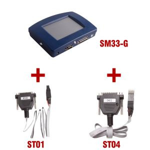 Original YANHUA 4.85V Digiprog III Digiprog3 Odometer Master Programmer Plus ST01 and ST04 Cable