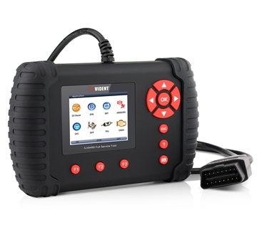 Vident iLink450 Full Service OBD2 Scan Tool Live Data EPB, Oil Service, ABS & SRS Reset, Battery Configuration etc